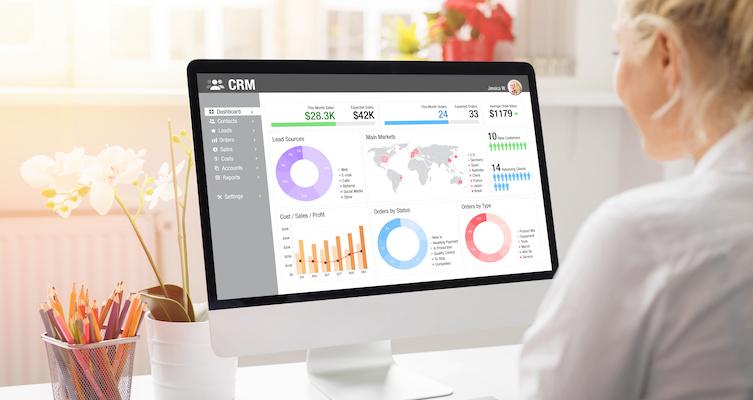 CRM development company office